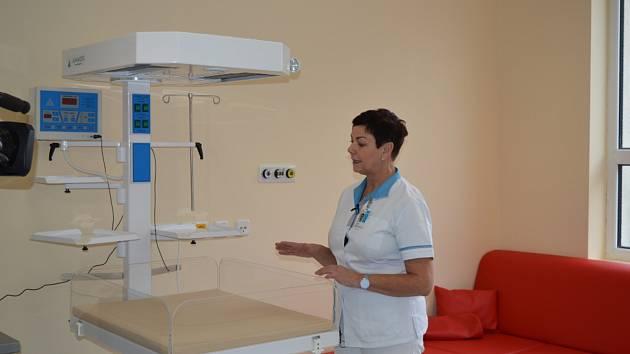 Nemocnice ve Frýdku-Místku otevřela rekonstruované porodní sály.