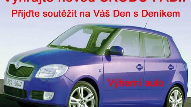Hlavní cena - nová Škoda Fabia