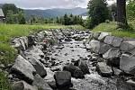 Revitalizace vodního toku Sibudov v Malenovicích.