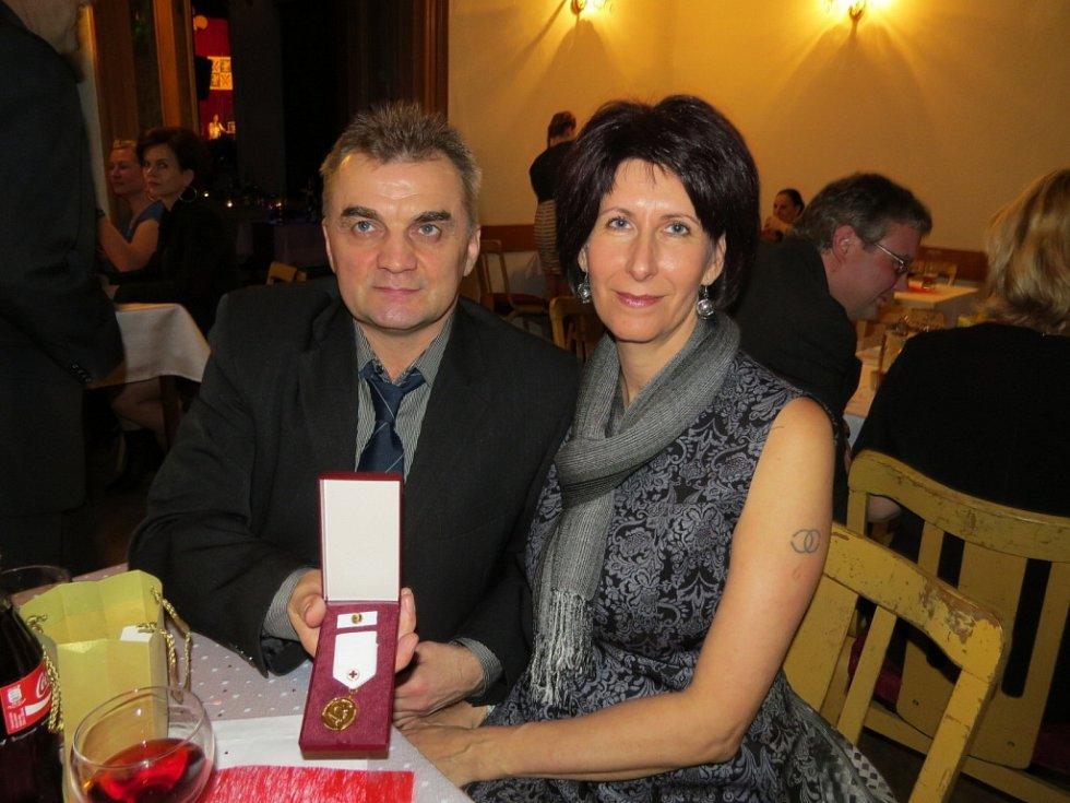 Ocenění dárců krve z Frýdku-Místku.