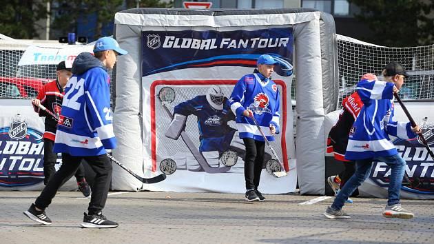 NHL Global Fan Tour míří do Třince.