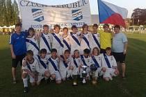 Starší žáci Fotbalu Frýdek-Místek se stali vítězi mezinárodního turnaje ve Francii.