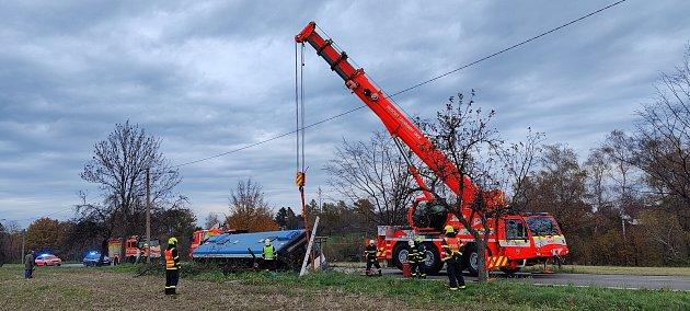 Nehoda autobusu, Řepiště, Frýdecko-Místecko, 14.listopadu 2020.