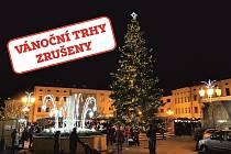 Vánoční trhy letos ani ve Frýdku-Místku nebudou.