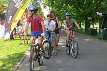 Frýdek-Místek na kole.