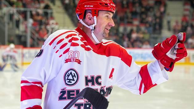 Jan Peterek se zasloužil o hezkou tečku letošních třineckých oslav pořádáním utkání legend.