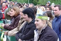 Již pošesté hostily v sobotu 30. května beskydské Pustevny Radegastův rej. Vystoupení MIGu 21 sledovala tisícovka diváků.