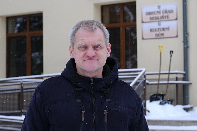 Starosta Sedlišť Jaromír Krejčok.