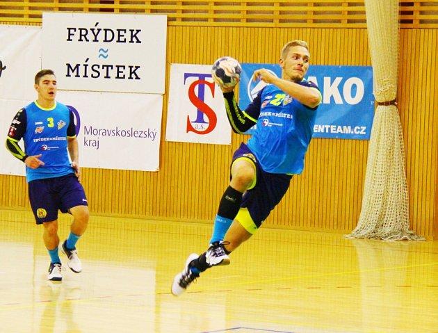 Házenkáři Frýdku-Místku jsou po domácím vítězství nad Hranicemi na 9. místě.