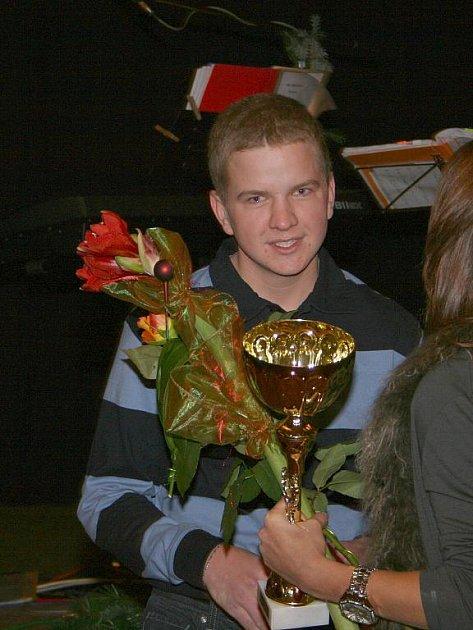 Jan Zwinger - nejlepší junior 2009 (Stáj Mustang Lučina).