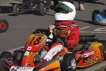Nejmladším závodníkem teamu M.K. Motorsport je David Klar z Frýdku-Místku.