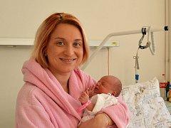 Sylvii z Pražma se narodila holčička Viktoria. Je prvním dítětem, které letos ve frýdecko-místeckém okresu přišlo na svět.