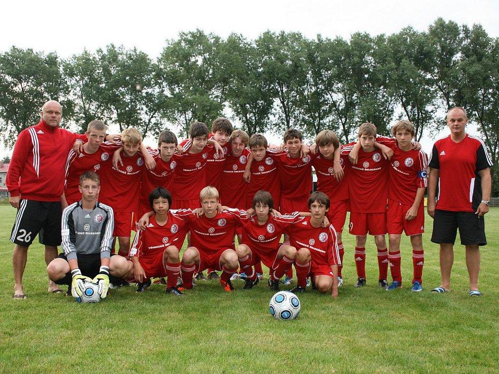 Fotbalisté Třince skončili ve Studénce nakonec na šestém místě.