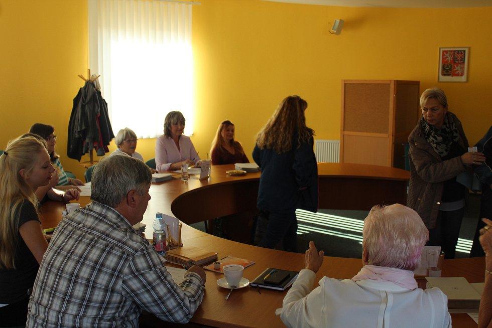 Volby ve Sviadnově.