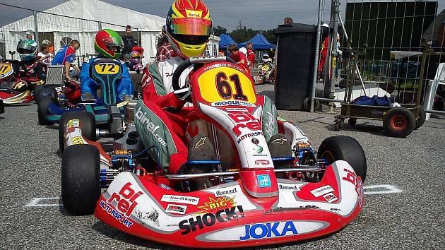 Filip Hubík si v Sosnové vyjel druhé místo.