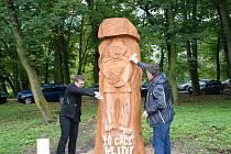 Jan Vitásek vytvořil sochu Švejka pro unikátní projekt v Polsku.