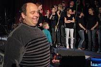 Petr Walach během letošní Bambiriády v třineckém kině.