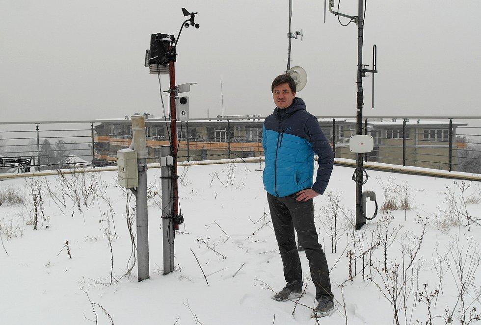 Vědec pocházející z Valašska a žijící v Ostravě, kde vyučuje i meteorologii a klimatologii Václav Škarpich.