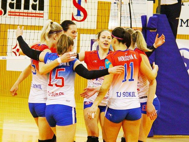 Do konce 2. části extraligové soutěže žen zbývá volejbalistkám Frýdku-Místku odehrát již jen dvě utkání.