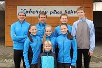 Zimního běhu v Kobeřicích se účastnili také běžci z frýdecko-místeckého oddílu TJ Slezan.