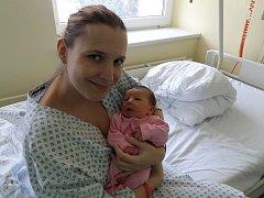 Aneta Lachowiczová s maminkou, Třinec, nar. 27. 11., 48 cm, 3,47 kg, Nemocnice Třinec.