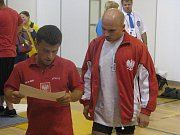 Mistrovství Evropy v bench pressu ve Frýdku-Místku.