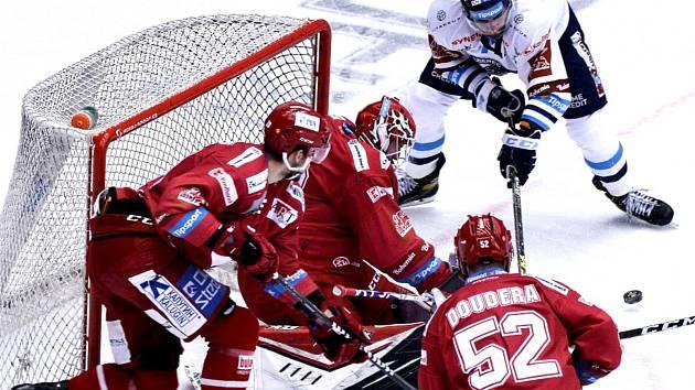 Liberec prohrál v Třinci i druhý finálový zápas.