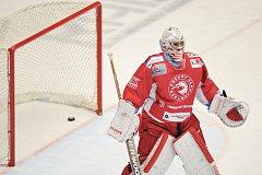 Utkání 40. kola hokejové extraligy: HC Oceláři Třinec vs. HC Kometa Brno.