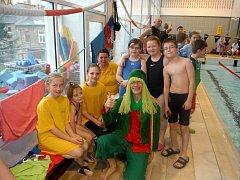 Frýdecko-místečtí plavci se zúčastnili prostějovského závodu O mokrého Emana.