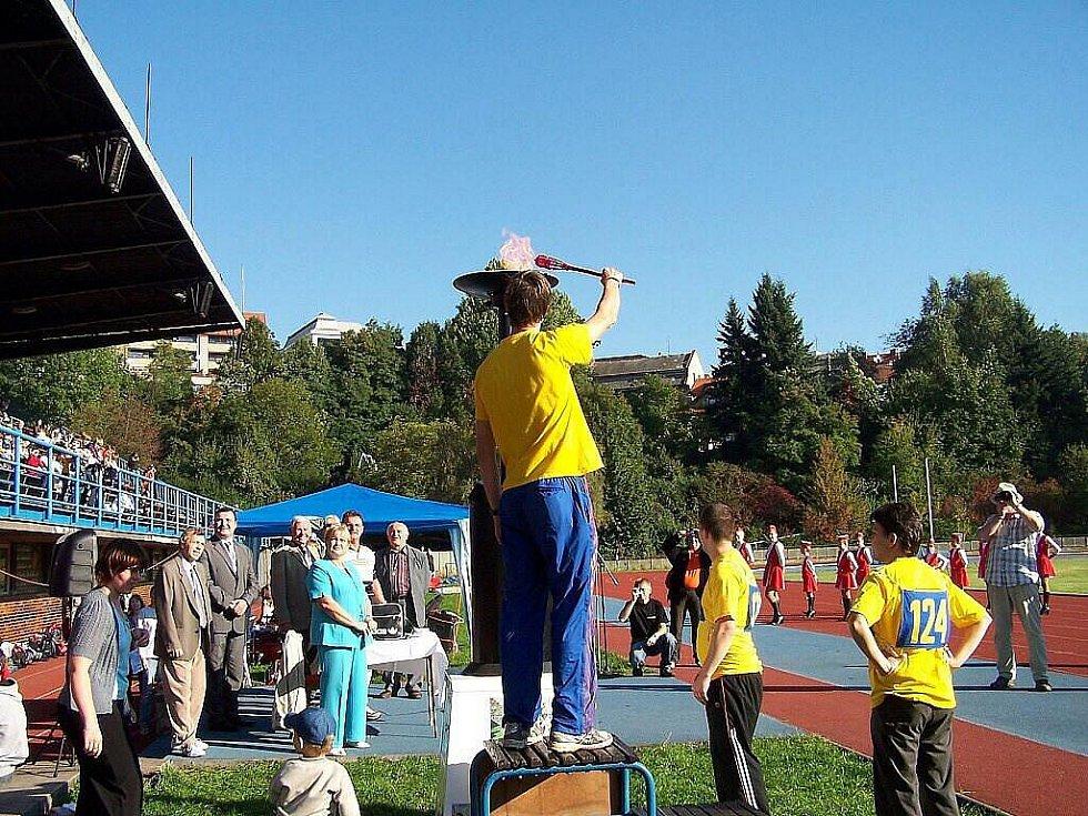 XIV. ročník sportovní olympiády, která se konala 24.září na TJ Slezan.