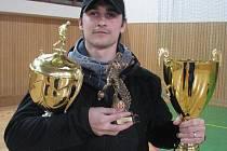 V loňské sezoně se z titulu krále střelců radoval Michal Chlebek (na snímku). I letos se Chlebek usadil s osmi góly na čele tabulky.