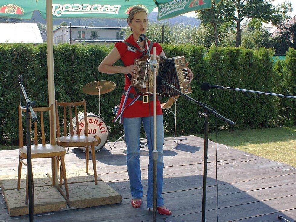 Vítězka Vlasta Múdriková.
