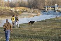 V těchto místech by měl řeku Ostravici protnout třetí most. Jedno z posledních míst, kam Místečané ještě mohou chodit na procházky přírodou, má vzít za své už za dva roky.
