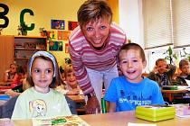Žákům a učitelům základní školy T.G. Masaryka ve Frýdlantu nad Ostravicí letos začal školní rok příjemně, školní pavilon s učebnami je čerstvě opravený.