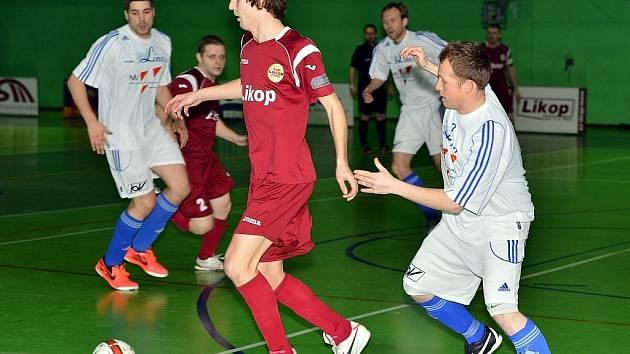 Futsalisté třineckého Likopu podlehli na domácí palubovce Kalábku Brno 0:4.
