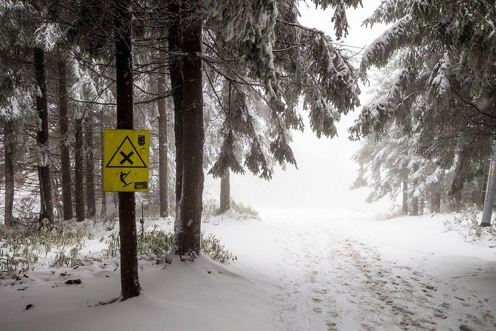 Beskydy mohou být v zimě zrádné.