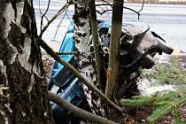 Vážná dopravní nehoda na silnici třetí třídy u obce Morávka.