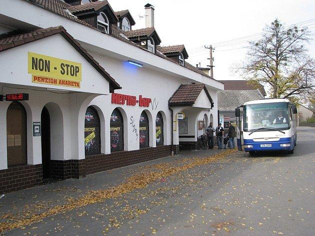 Penzion ve Sviadnově, kde se incident odehrál.