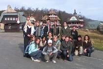 České a polské děti s doprovodem navštívily v rámci e-Twinningových aktivit nádhernou horskou lokalitu Pustevny.