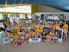 Devátého ročníku Velké ceny Frýdku-Místku se zúčastnila necelá stovka nadšených plavců.