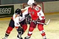 Hokejisté Frýdku-Místku podlehli ve 30. kole druholigového soutěže na domácím ledě opavskému Slezanu.