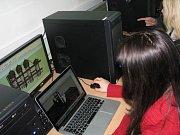Školáci v rámci výuky a kroužku počítačové grafiky na 4. ZŠ v Třinci vytvořili 3D model areálu Dolní Vítkovice.