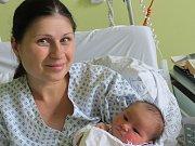 Noemi Egertová, Frýdek-Místek, nar. 9. 5., 50 cm, 3,5 kg. Nemocnice ve Frýdku-Místku.
