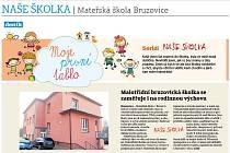 NAŠE ŠKOLKA | Mateřská škola Bruzovice