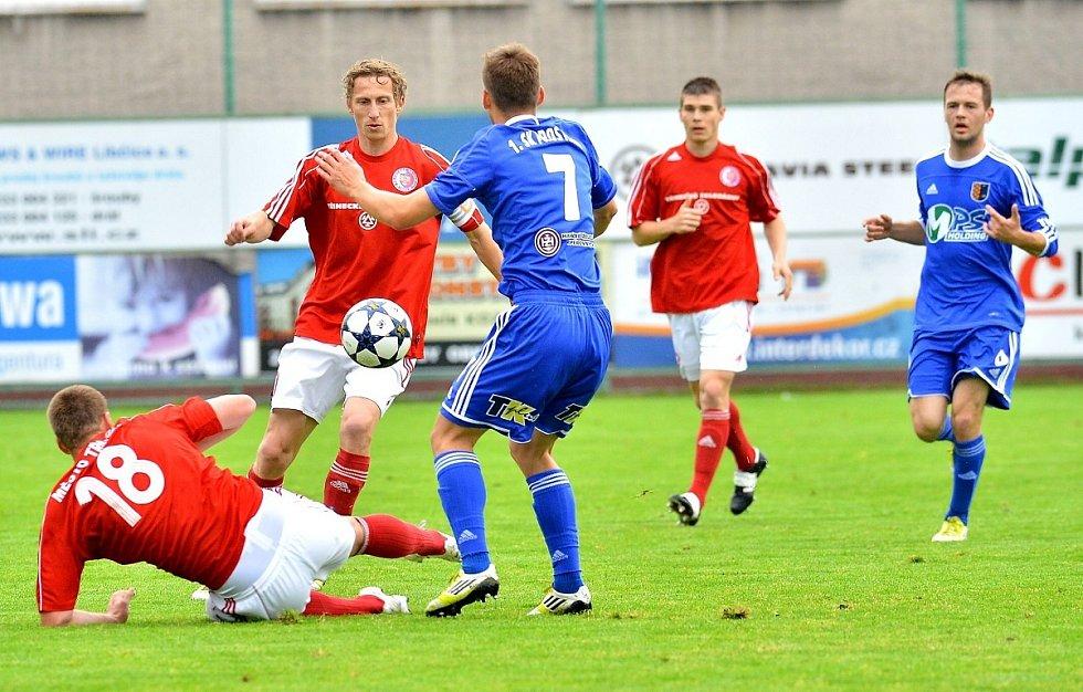 Fotbalisté Třince si na svém trávníku poradili s Prostějovem 5:1.