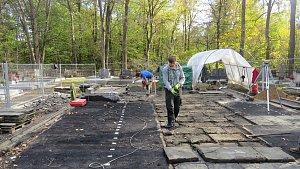 Archeologický výzkum v Gutech