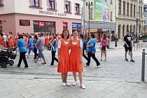 Kateřina Matušínská navštěvuje s dcerou Magdou tělovýchovné jednoty po celé republice.