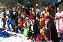 Lyžařský areál SKI MSA ve Starých Hamrech v sobotu hostil akci nazvanou Loučení se zimou.