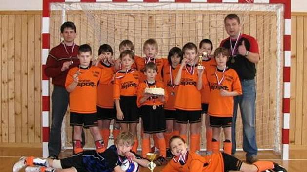 Mladíci z Dobré obsadili druhé místo.