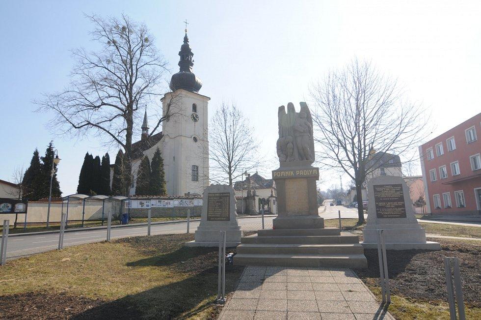 Obec Staříč, březen 2021.